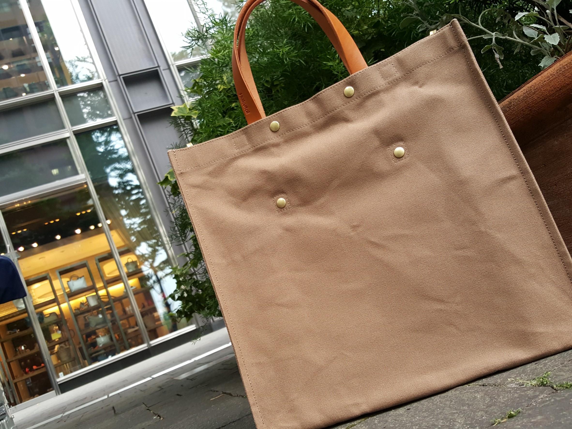 トート,紙袋型,Hakutai