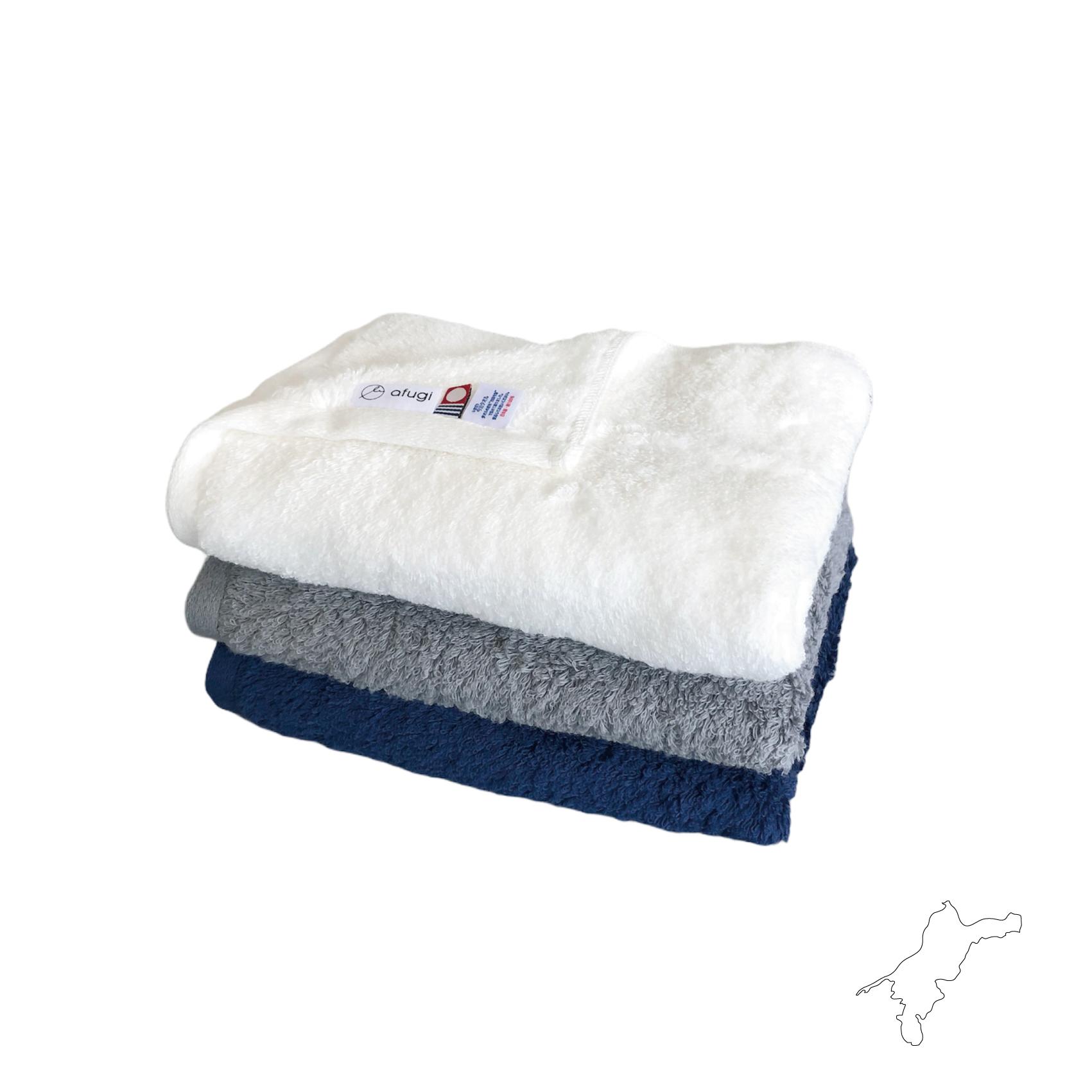 肌ざわりの超長綿フェイスタオル -face towel- <IMABARI>