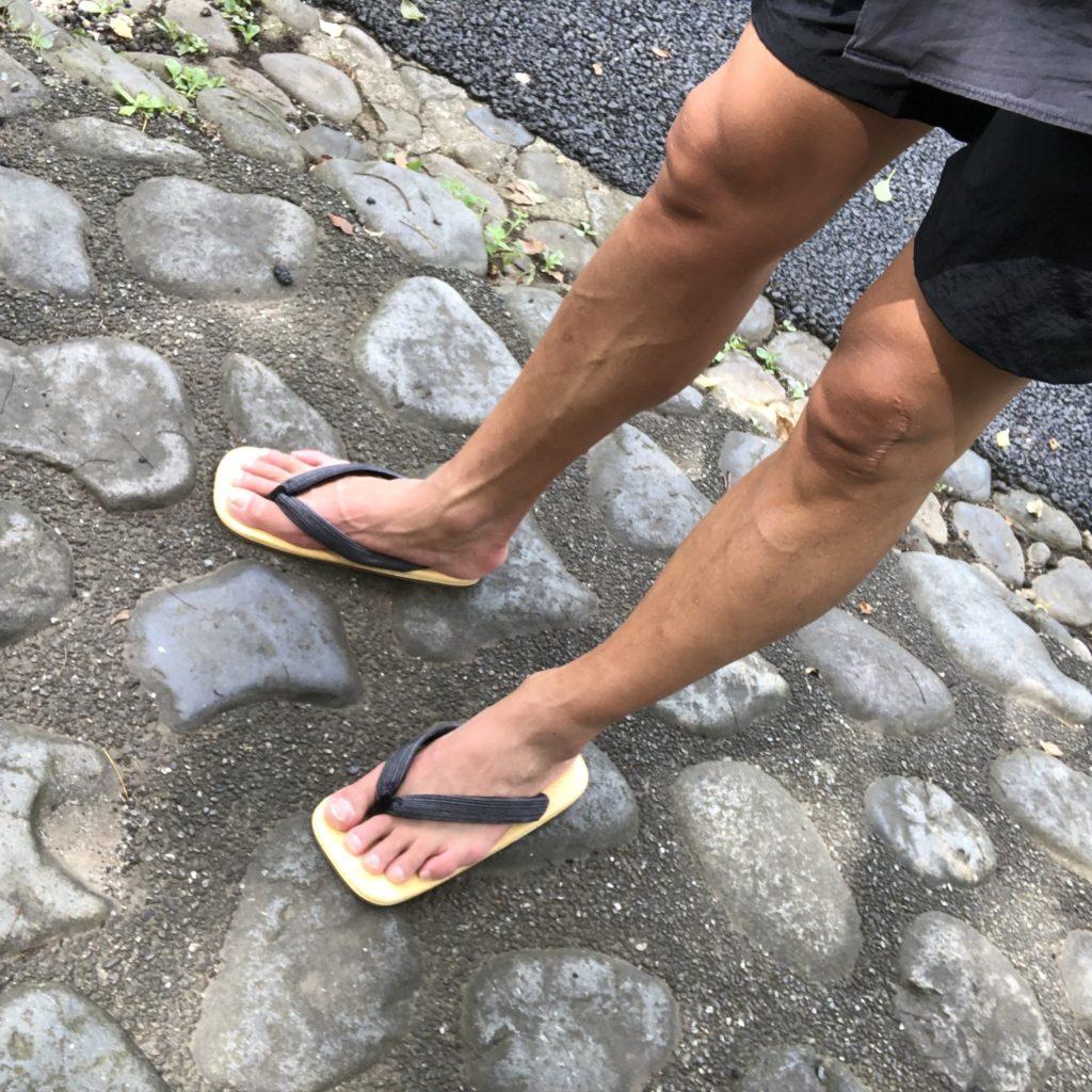 夏,足もと,メンズ
