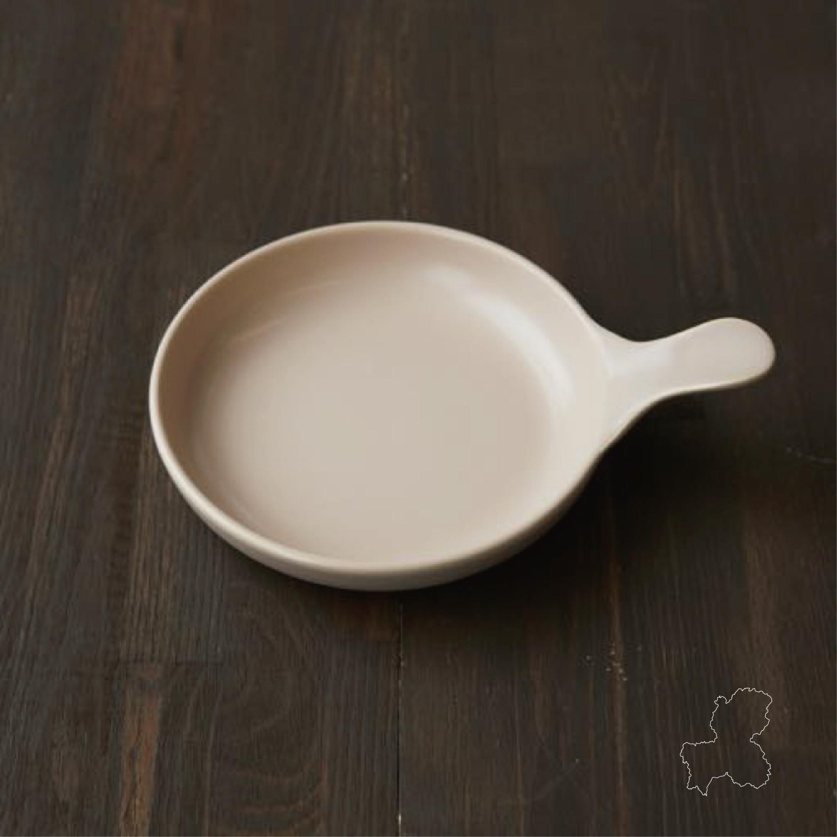 (美濃焼) 耐熱陶器のフライパンプレートS <GIFU>